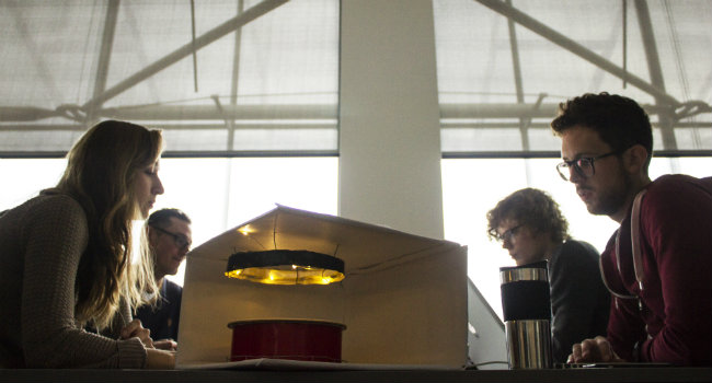 Students create intelligent light in classrooms